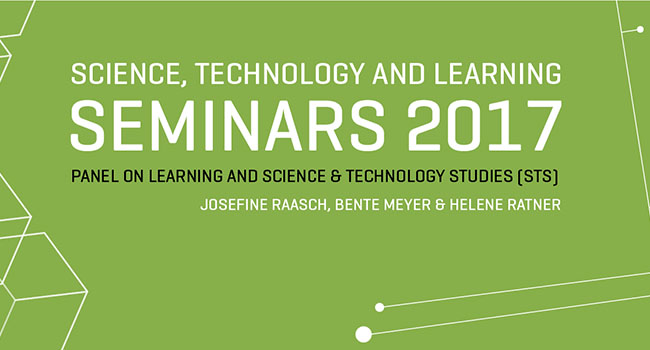 PANEL ON LEARNING AND SCIENCE & TECHNOLOGY STUDIES (STS)