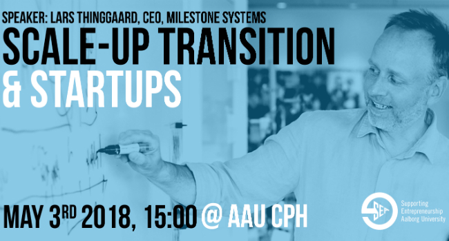 Scale-up transition & startups