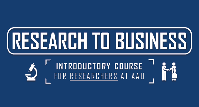 Research to Business: Introductory Course for Researchers [COPENHAGEN]