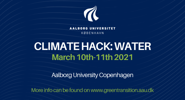 Conference: Climate Hack - Water
